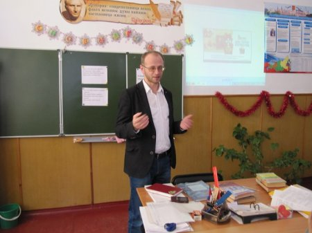 Информация о проведении урока-лекции, посвященного Дню Героев Отечества.