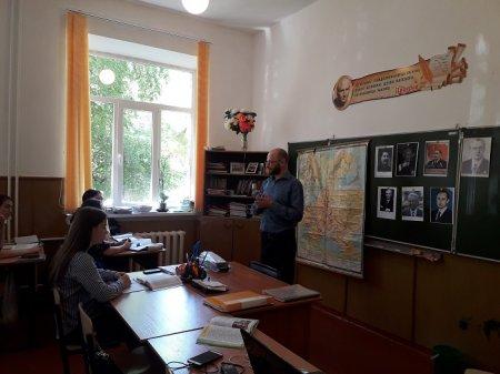 Информация о проведении Ш.М. Батчаевым урока-лекции, посвященного Дню памяти и скорби